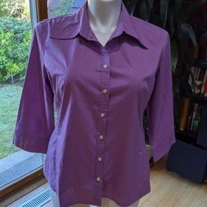 Merona Stretch Cotton Blouse - Size XL